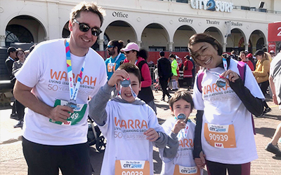 City2Surf Virtual Run – Team Warrah