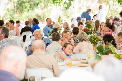 Warrah 50th Garden Party